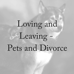 Loving and Leaving: Pets and Divorce
