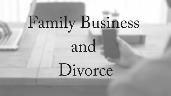 family business, divorce