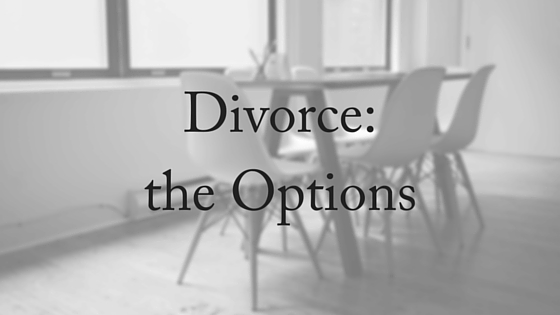 Divorce-the Options