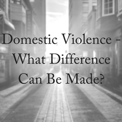 Domestic Abuse: What Can You Do?