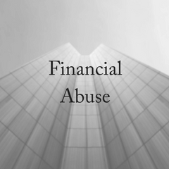 Financial Abuse Is Domestic Violence