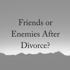 Friends or Enemies After Divorce?