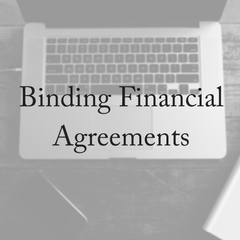 What Is A Binding Financial Agreement?