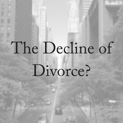 Is Divorce Declining?