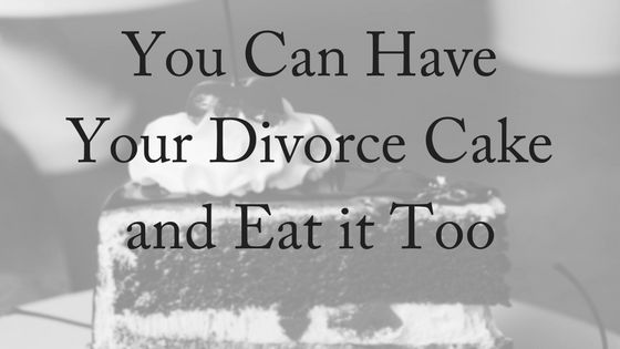 Divorce Cake: Celebrating The End
