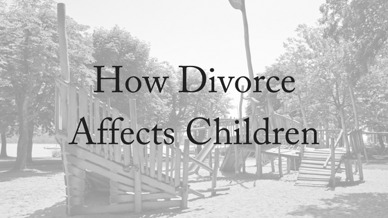 How Divorce Affects Children