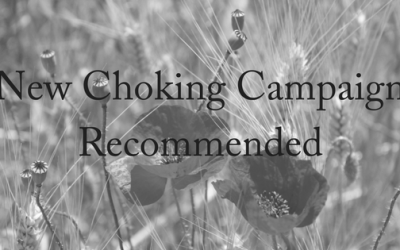 New Choking Campaign Recommended