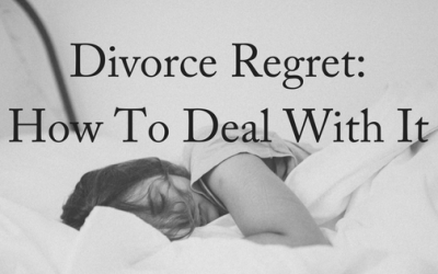 Divorce Regret: How To Deal With It
