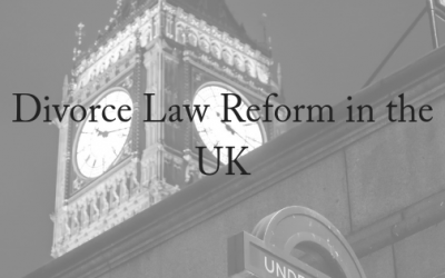 Divorce Law Reform On The Way In The UK
